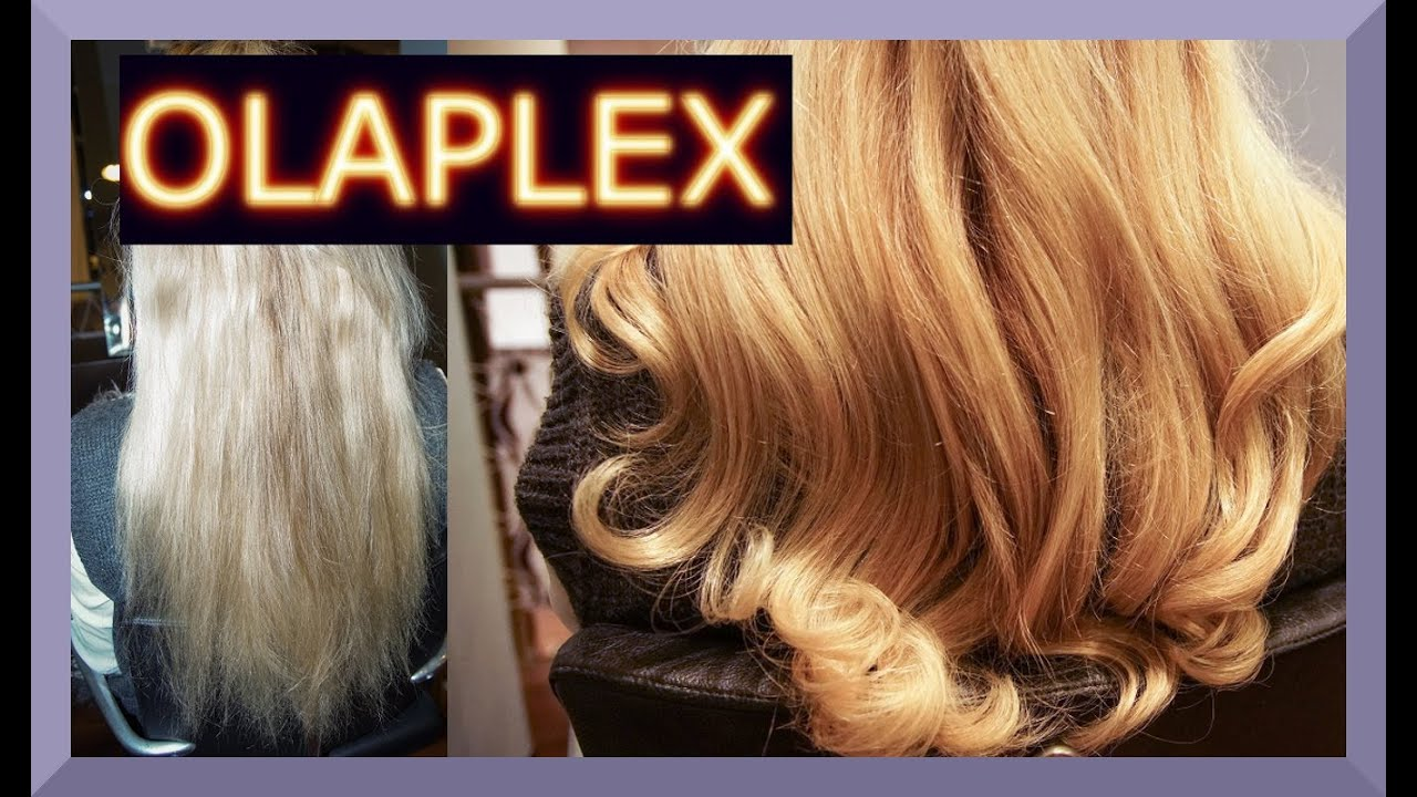 kaputte haare reparieren mit olaplex behandlung i anwendung i before and after i blond youtube. Black Bedroom Furniture Sets. Home Design Ideas