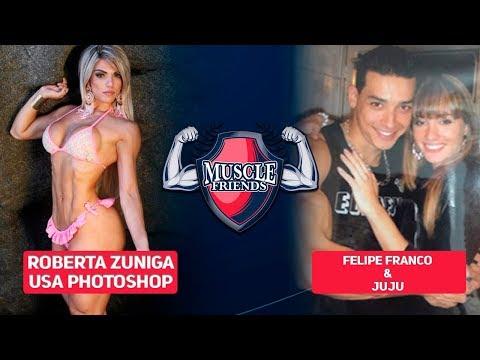 MUSCLE NOTICIAS - FELIPE FRANCO E SALIMENI AMIGOS? | ROBERTA ZUNIGA USA PHOTOSHOP
