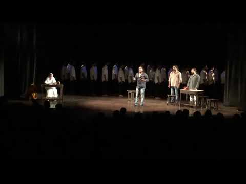 Mahesh Dattani 's play Final Solutions directed by Arvind Gaur , Asmita Theatre