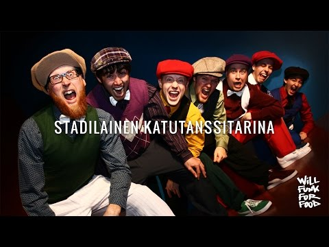 Will Funk for Food - Stadilainen katutanssitarina - Locking crew documentary