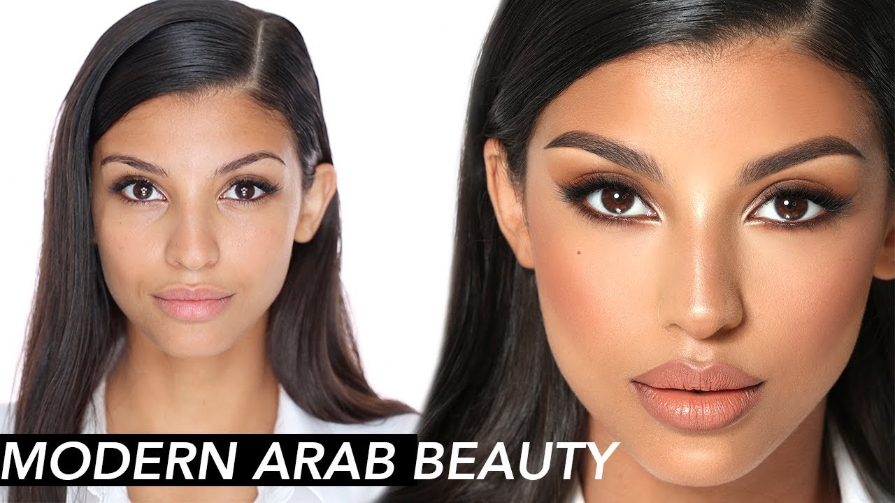 Modern Arab Makeup (Eid Tutorial) | Hindash