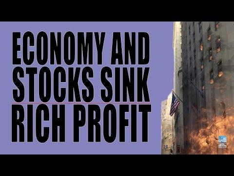 Stocks Volatile on U.S. Manufacturing Sinking to 2013 Lows!