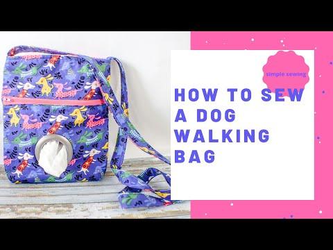 How to Make a Dog Walking Bag