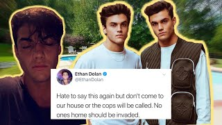 Someone Broke Into The Dolan Twins HOUSE....