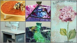 Manos a la Obra TV 2018 Programa 42 - Pouring - Pintar Madera - Pintura Decorativa