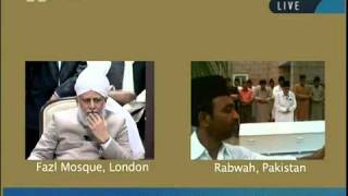 Namaz Janaza of Sahibzadi Hadhrat Nasira Begum sahiba at Rabwah Pakistan