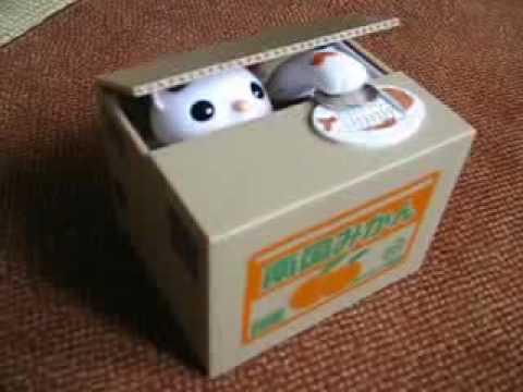 Itazura Kitty Coin Bank