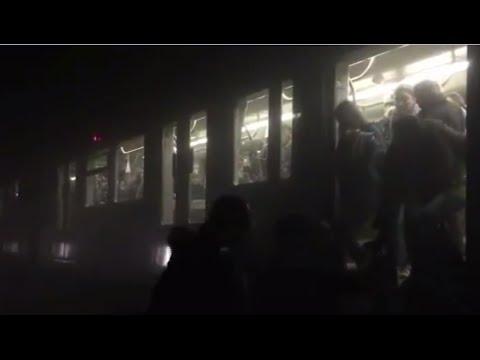 Brussels metro blast immediate aftermath: Passengers flee tunnel following deadly Maalbeek bombing