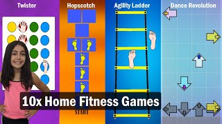 FITNESS GAMES - Kids Workout Made Fun For The Whole Family