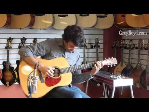 2007 Roy Noble Pau Ferro Dreadnaught Guitar