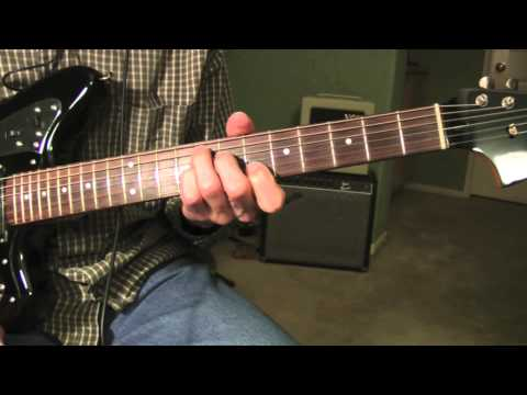 Del Shannon - Runaway - Guitar Lesson (with backing track)