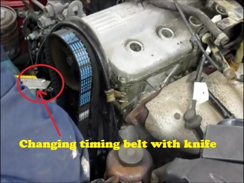 Changing Timing Belt Suzuki Vitara Youtube