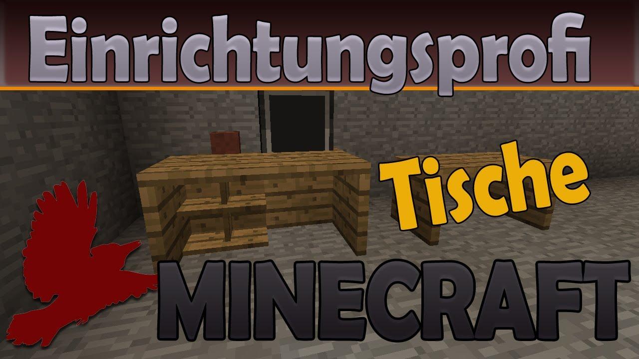 Wie baut man Tische  Einrichtung mit Mbeln  Minecraft  FTB  Nynzal  YouTube