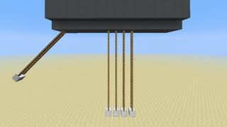 Functional Newton's Cradle! [minecraft 1.6.2]