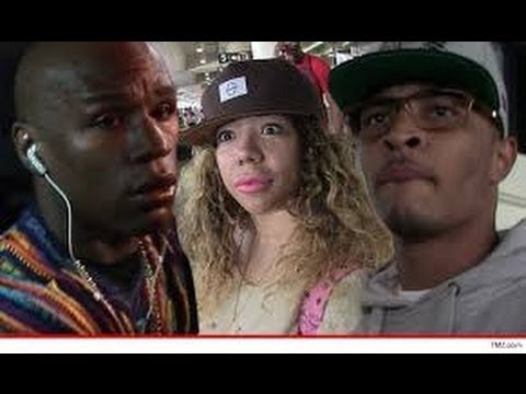 t.i.-&-money-mayweather-fight-on-vegas-strip-over-tiny-|-team-t.i.-or-team-mayweather?