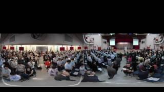 禮賢會彭學高紀念中學第43屆畢業禮主禮嘉賓進場 360片段