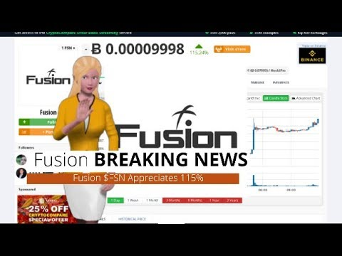 Fusion $FSN Has Risen 115% During the Last Day 3
