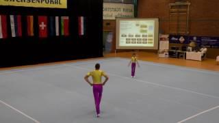 Sachsenpokal 2016   119   022   Men's Pair   Junior 1   Balance   GER   LZSA Düsseldorf GER, Alexand