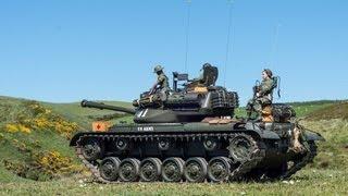 M47 Patton Tank out on Patrol