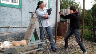 Прямой удар рукой: техника. Драка. Как научиться драться(Видеокурс эффективной самозащиты на улице: http://atletizm.com.ua/samooborona У нас Вы можете заказать индивидуальную..., 2013-09-24T08:44:36.000Z)