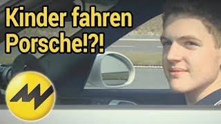 Kinder fahren Porsche: Die Schumis aus der Grundschule