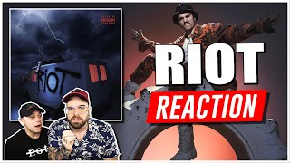 REACTION a IZI - RIOT ( Disco Completo ) | Arcade Boyz