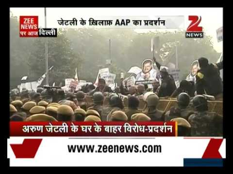 DDCA row: Aam Aadmi Party stages protest...