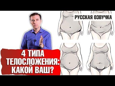 4 типа телосложения: КАКОЙ ВАШ? (русская озвучка)