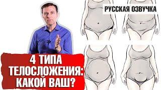 4 метаболических типа телосложения: КАКОЙ ВАШ? (русская озвучка)