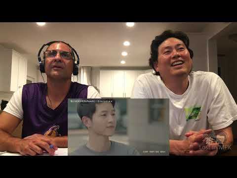 Clueless Guys React To CHEN/PUNCH - Everytime ( Descendant Of The Sun OST)
