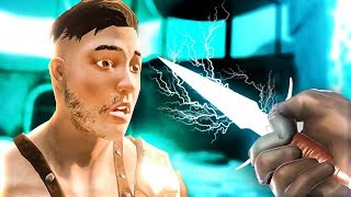 LIGHTNING BLADE STUNS ENEMIES - Blade and Sorcery Early Access - HTC Vive Pro Gameplay