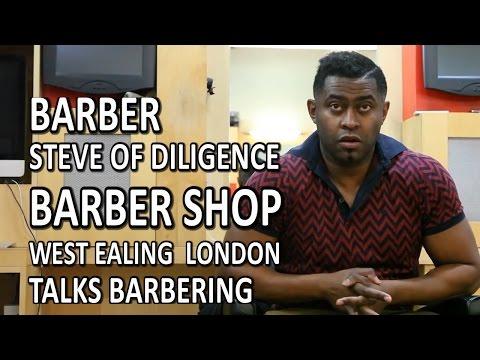 Barber Steve Of Diligence Barber Shop West Ealing  London Talks Barbering