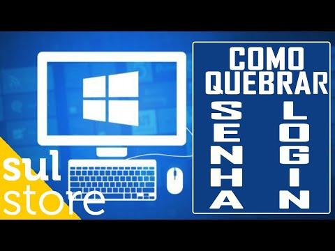 COMO QUEBRAR SENHA DE LOGIN USUÁRIO LOCAL NO WINDOWS 10, 8.1 OU 7