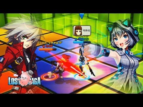Subscriber Battle   Ragna No.50 vs Warp No.181   Lost Saga Korea