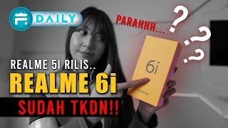 Realme 6i Resmi Dirilis dengan Banyak Kejutan - Harga dan Spesifikasi Indonesia.