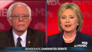 Tempers flare at Democratic debate as Clinton accuses Bernie Sanders of running smear campaign