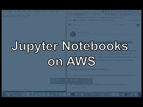 Setup and use Jupyter (IPython) Notebooks on AWS - Towards Data Science
