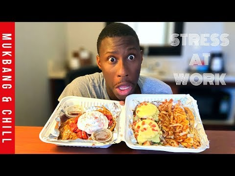 MUKBANG | FRENCH TOAST & EGGS BENEDICT | EATING SHOW