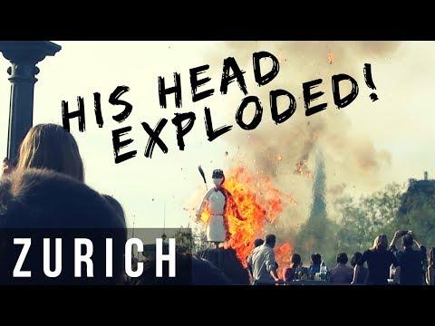 EXPLODING HEADS & BAR TOUR - ZÜRICH SECHSELÄUTEN