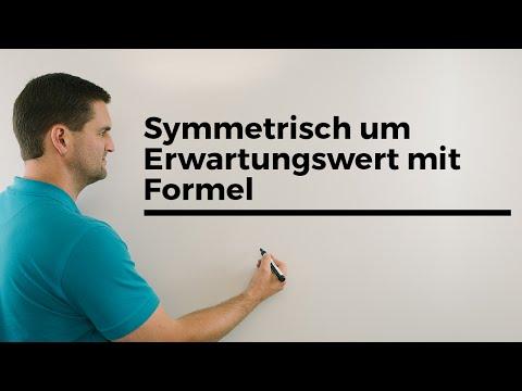 Symmetrisch um Erwartungswert mit Formel statt Sigmaumgebung, Mathe by Daniel Jung from YouTube · Duration:  5 minutes 44 seconds