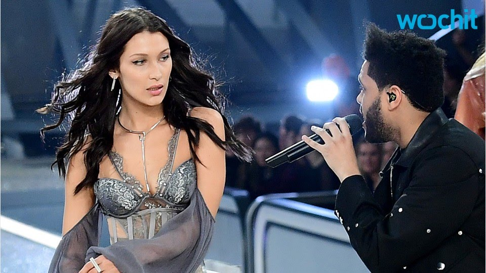 Exes Bella Hadid And The Weeknd Share Victorias Secret Fashion Show Runway