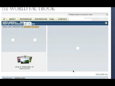 Citing CIA World Factbook in EasyBib