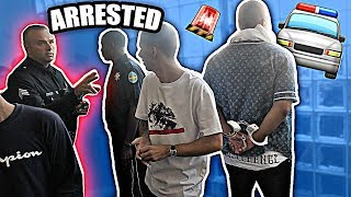 POLICE ARRESTED ME FOR THIS!!