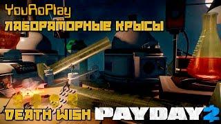 Payday 2. Как быстро пройти лабораторные Крысы.Жажда смерти.Death Wish.