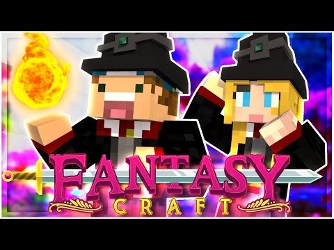 CASTING OUR FIRST SPELLS! | EP 11 | FantasyCraft (Minecraft Modded Survival)