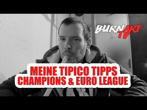 TIPICO TIPPS CHAMPIONS LEAGUE 4. SPIELTAG | BURNART TV #156 von YouTube · HD · Dauer:  3 Minuten 56 Sekunden  · 96 Aufrufe · hochgeladen am 01/11/2016 · hochgeladen von BurnArtTV