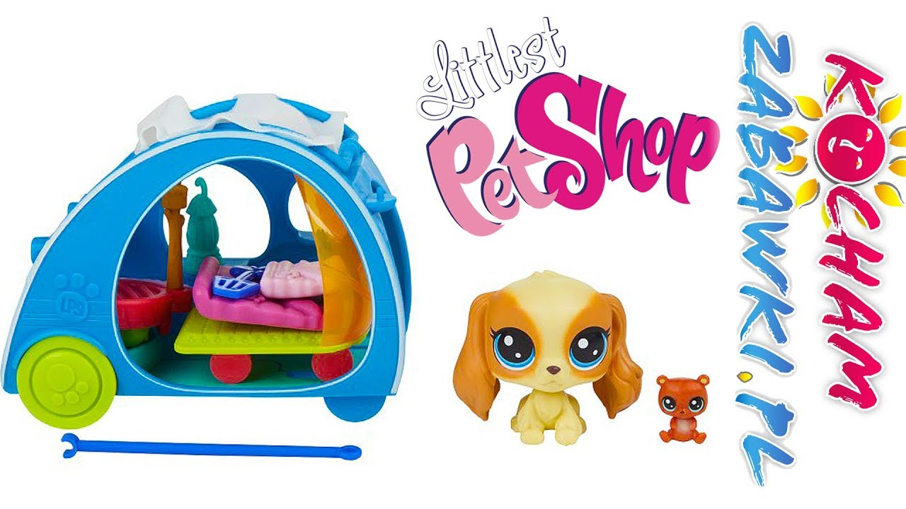 Littlest Pet Shop • Kamper • Wyjazd na biwak • bajki po polsku