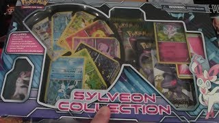 Pokemon Sylveon Collection Box Opening All Eevee Evolutions