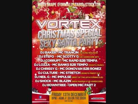 Vortex - Christmas Special - 13.12.2013 - Dj's Chrissy G & Illusion - Mc's Impulse & Energize