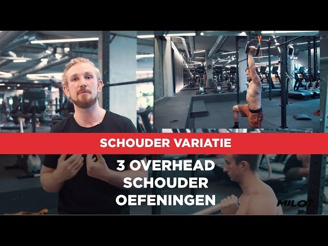 3 variaties op de Overhead Press